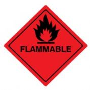Hazard safety sign - Flammable 031